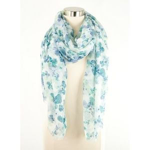 Bass Floral Print Scarf